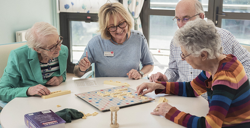 Maison de retraite vie sociale